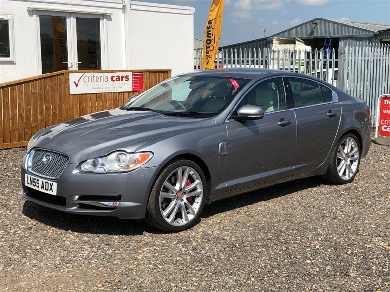 used Jaguar XF V6 S PREMIUM LUXURY in cambridgeshire-for-sale