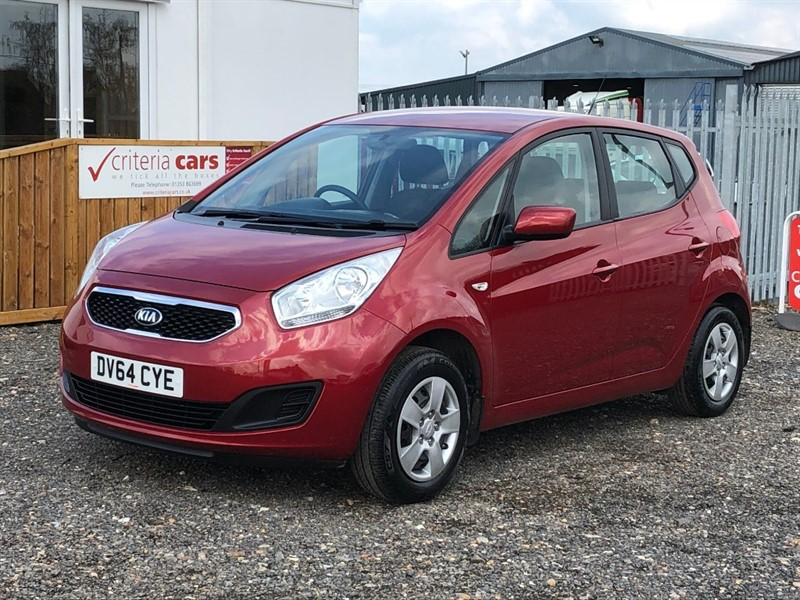 used Kia Venga 1 ECODYNAMICS in cambridgeshire-for-sale