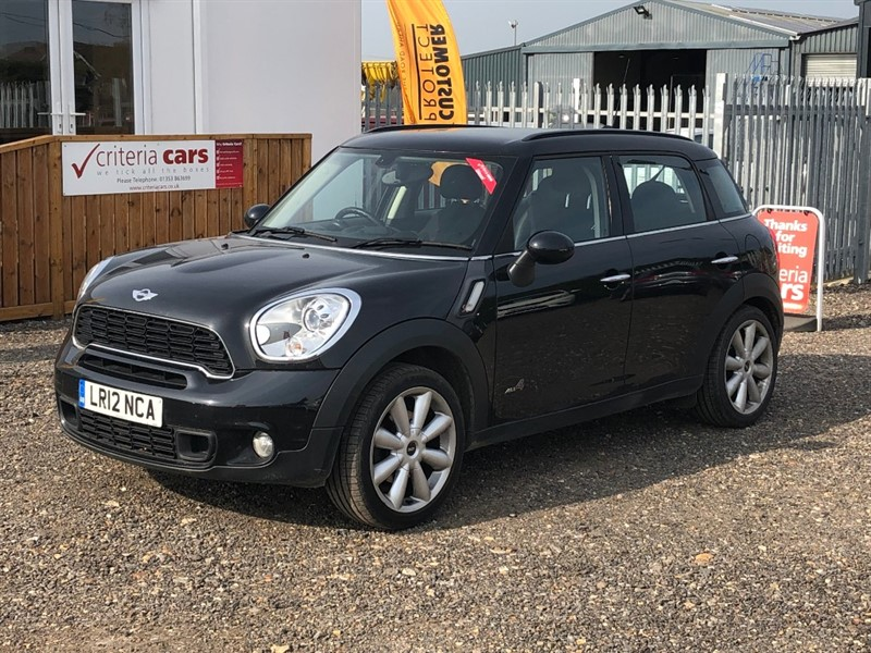 used MINI Countryman COOPER SD ALL4 in cambridgeshire-for-sale