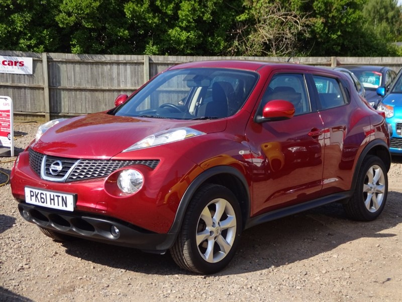 used Nissan Juke ACENTA in cambridgeshire-for-sale