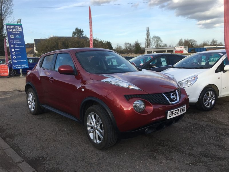 used Nissan Juke ACENTA PREMIUM in cambridgeshire-for-sale