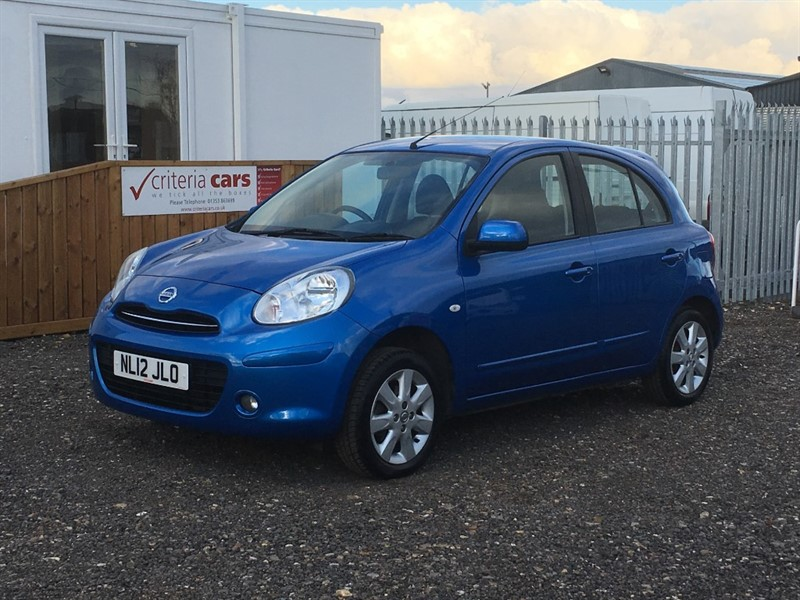 used Nissan Micra ACENTA in cambridgeshire-for-sale