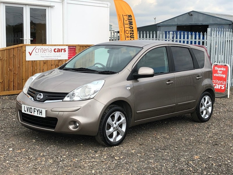 used Nissan Note N-TEC in cambridgeshire-for-sale