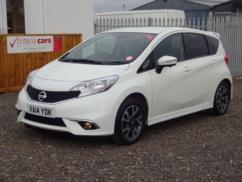 used Nissan Note DCI TEKNA in cambridgeshire-for-sale