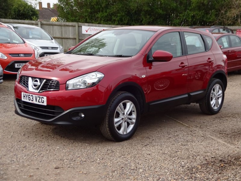 used Nissan Qashqai ACENTA in cambridgeshire-for-sale