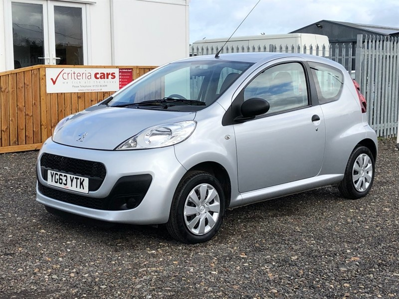 used Peugeot 107 ACCESS in cambridgeshire-for-sale