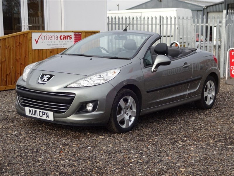 used Peugeot 207 CC SPORT in cambridgeshire-for-sale