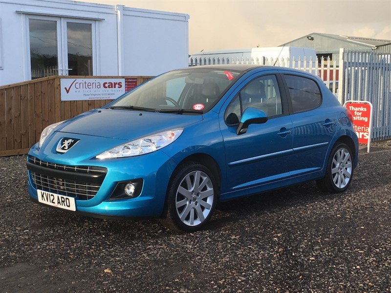 used Peugeot 207 HDI ALLURE in cambridgeshire-for-sale