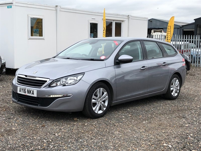 used Peugeot 308 BLUE HDI S/S SW ACTIVE in cambridgeshire-for-sale