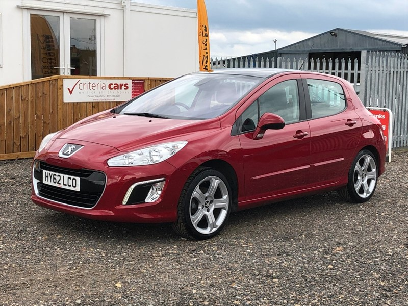 used Peugeot 308 ALLURE used cars Ely, Cambridge in cambridgeshire-for-sale