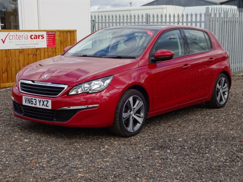used Peugeot 308 E-HDI ACTIVE in cambridgeshire-for-sale