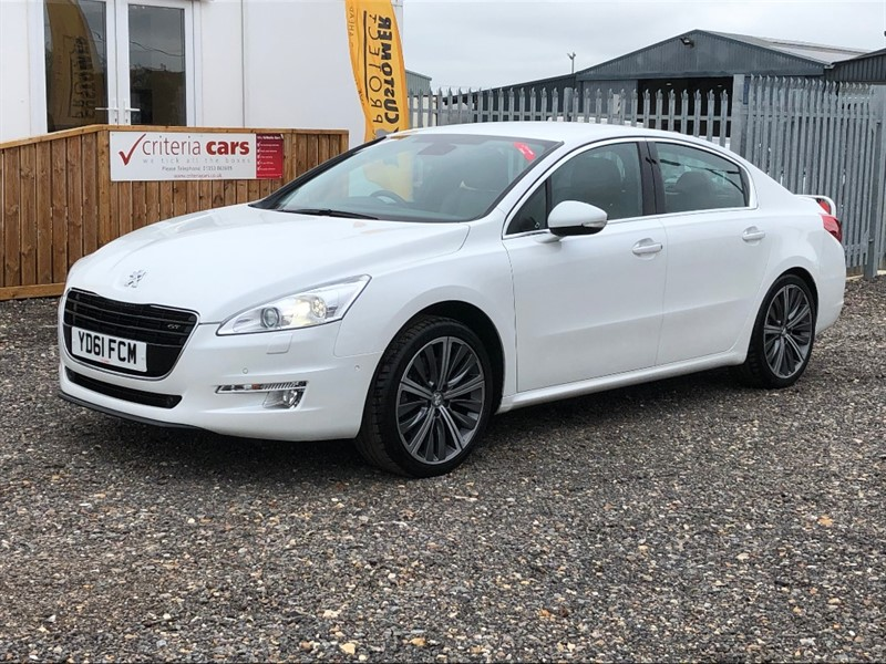 used Peugeot 508 HDI GT AUTOMATIC used cars Ely, Cambridge in cambridgeshire-for-sale