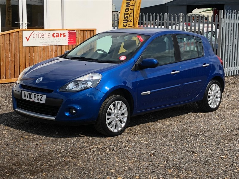 used Renault Clio DYNAMIQUE TOMTOM DCI in cambridgeshire-for-sale