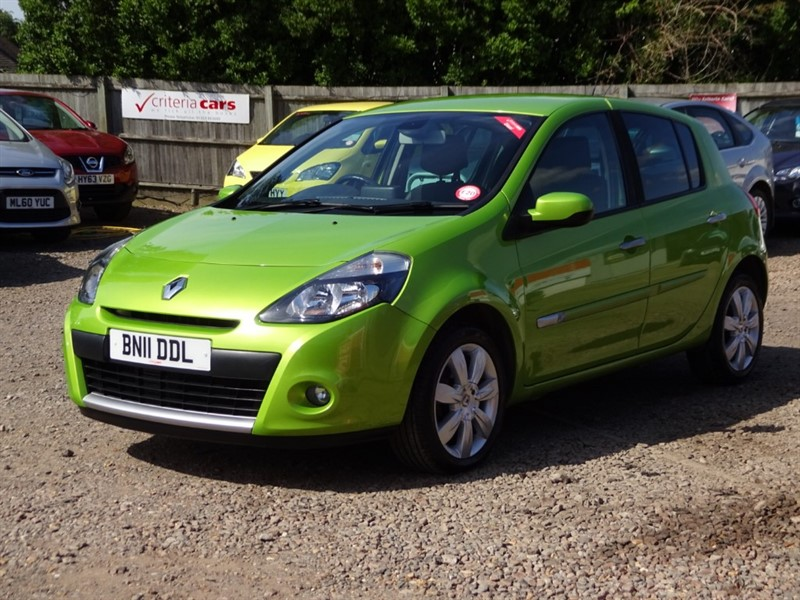 used Renault Clio PRIVILEGE TOMTOM DCI FAP in cambridgeshire-for-sale
