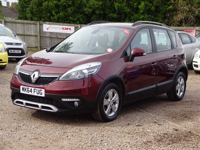 used Renault Scenic XMOD DYNAMIQUE TOMTOM ENERGY DCI S/S in cambridgeshire-for-sale