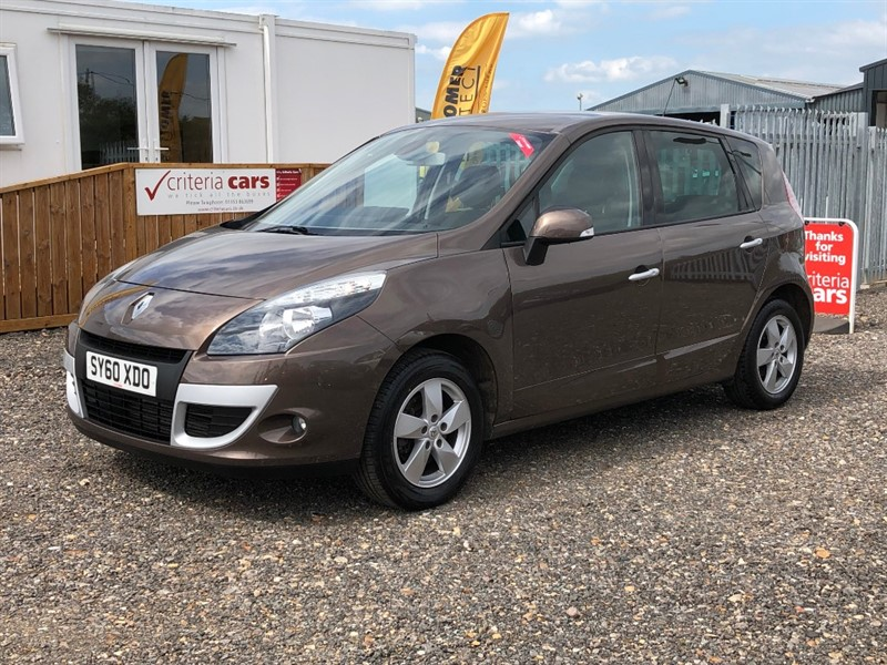 used Renault Scenic DYNAMIQUE TOMTOM DCI used cars Ely, Cambridge in cambridgeshire-for-sale