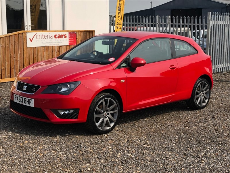 used SEAT Ibiza TSI FR in cambridgeshire-for-sale