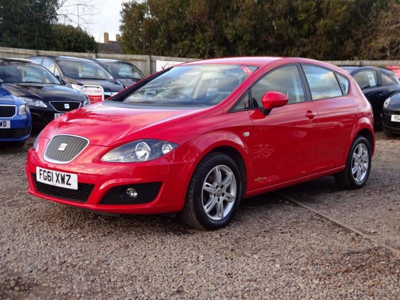 used SEAT Leon CR TDI ECOMOTIVE S AC in cambridgeshire-for-sale