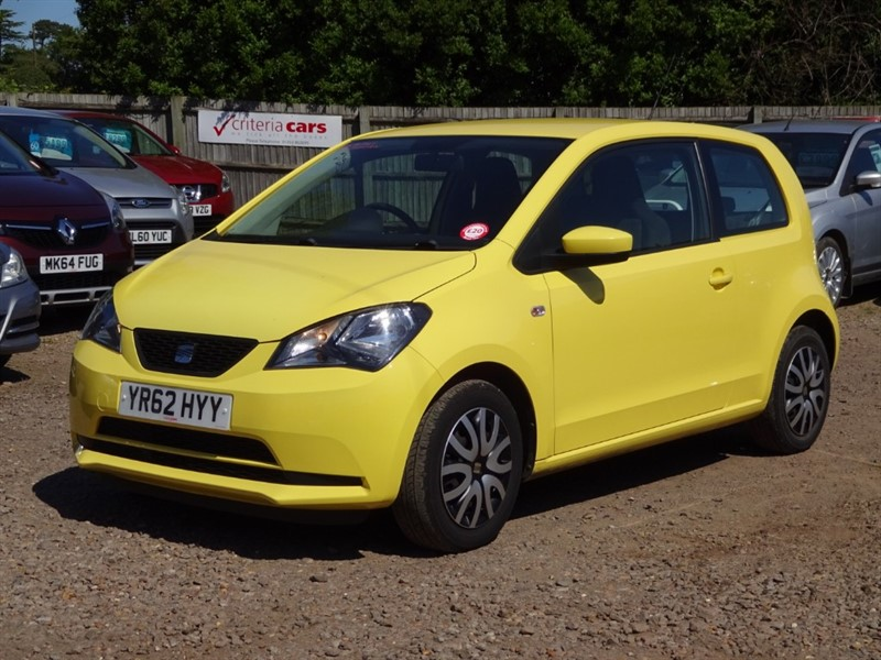 used SEAT Mii S A/C in cambridgeshire-for-sale