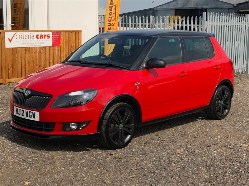 used Skoda Fabia MONTE CARLO 12V used cars Ely, Cambridge in cambridgeshire-for-sale