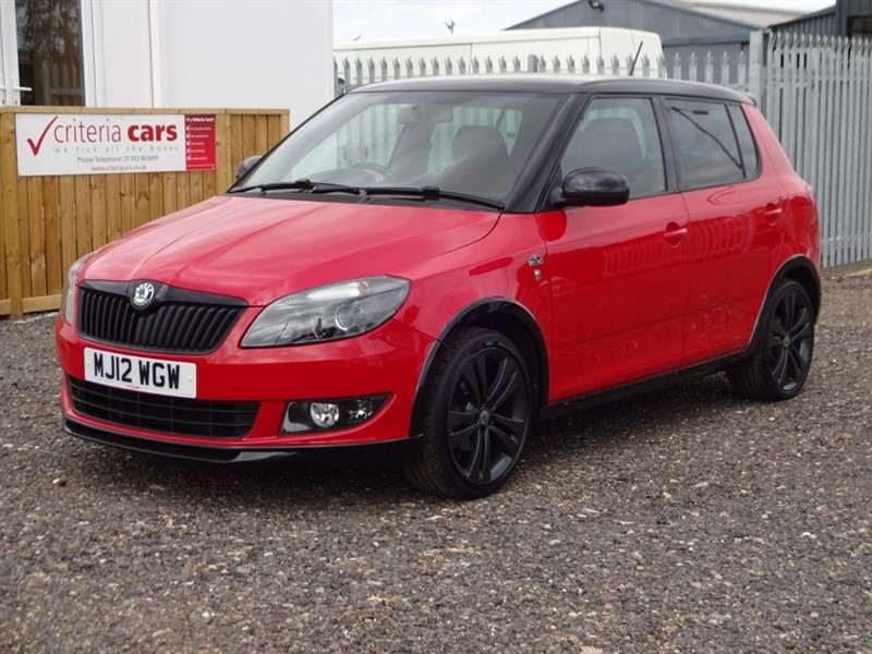 used Skoda Fabia MONTE CARLO 12V in cambridgeshire-for-sale