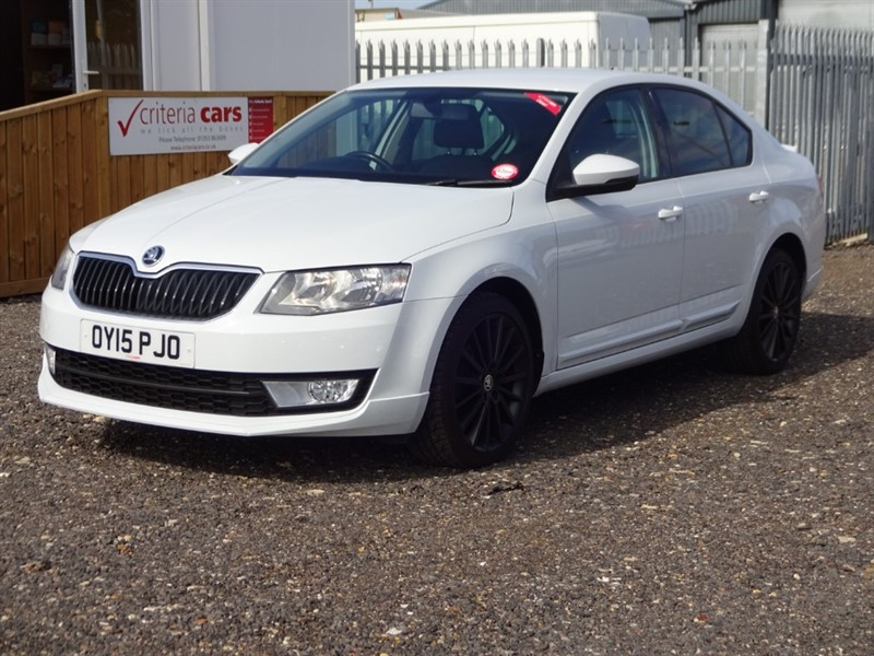 used Skoda Octavia BLACK EDITION TDI CR in cambridgeshire-for-sale