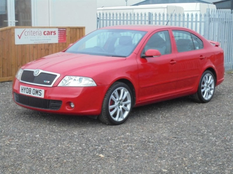 used Skoda Octavia VRS in cambridgeshire-for-sale
