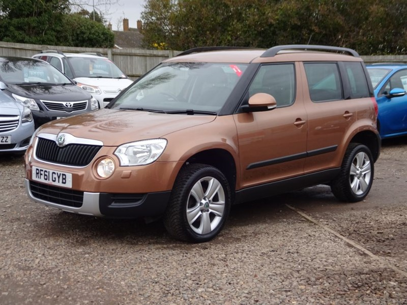 used Skoda Yeti SE TDI 4x4 CR in cambridgeshire-for-sale