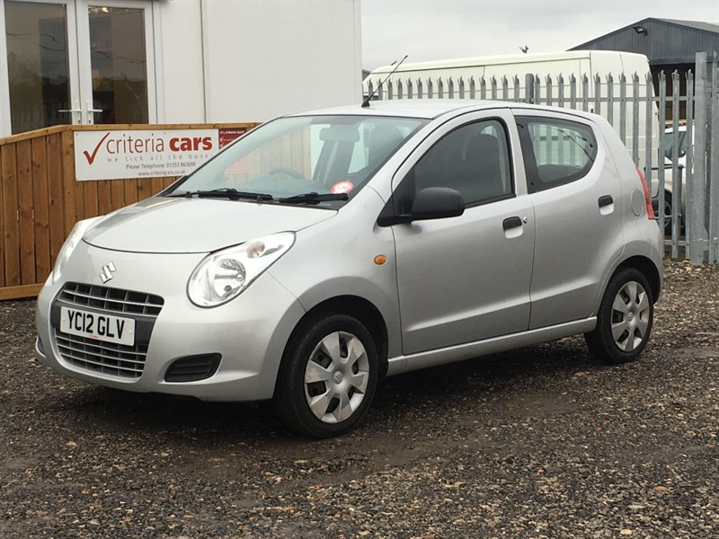used Suzuki Alto SZ3 in cambridgeshire-for-sale