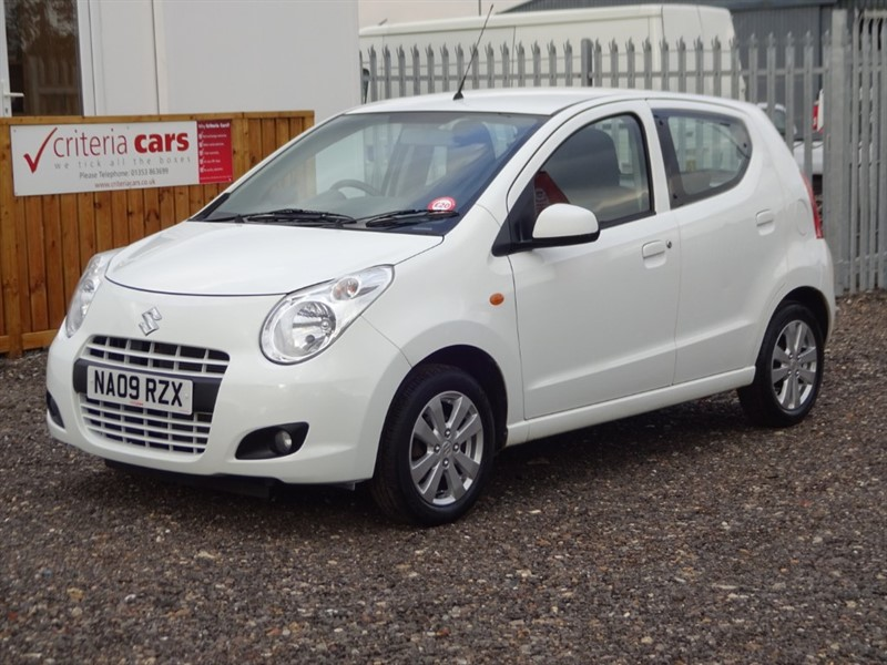 used Suzuki Alto SZ4 in cambridgeshire-for-sale