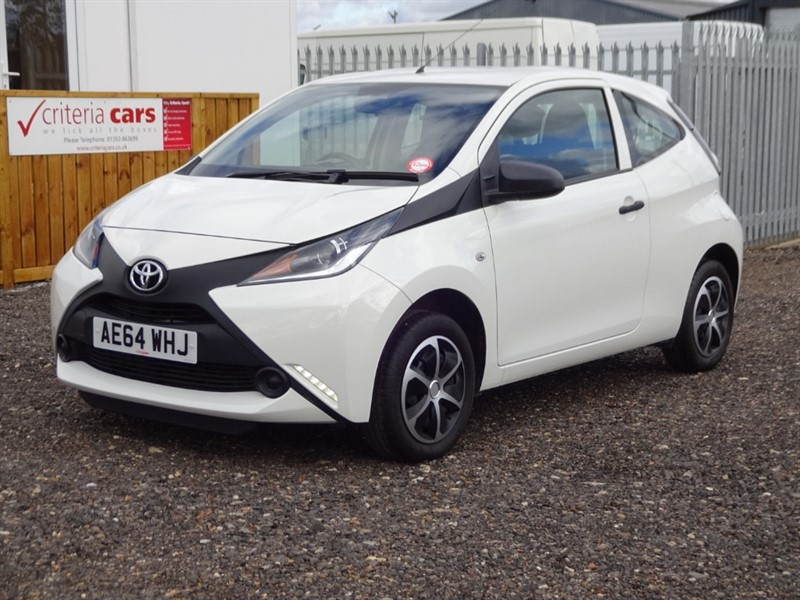 used Toyota Aygo VVT-I X in cambridgeshire-for-sale