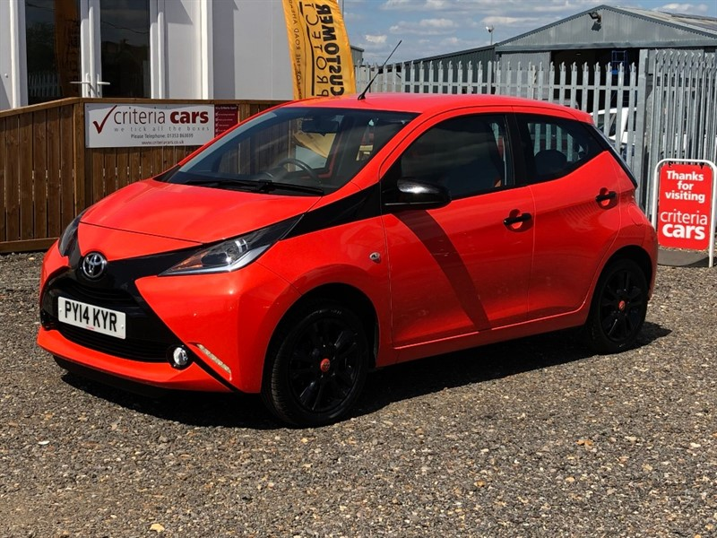 used Toyota Aygo VVT-I X-CITE in cambridgeshire-for-sale