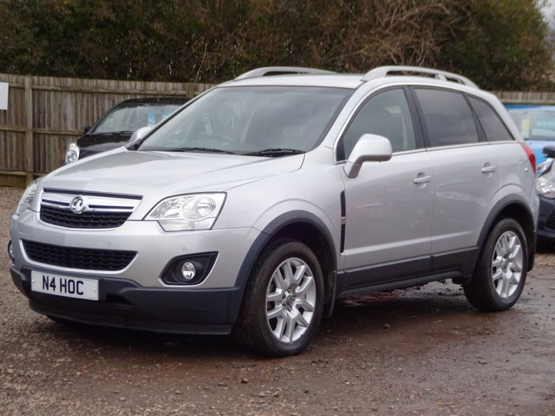 used Vauxhall Antara DIAMOND CDTI S/S in cambridgeshire-for-sale