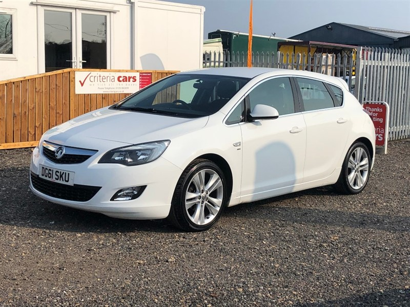 used Vauxhall Astra SRI in cambridgeshire-for-sale