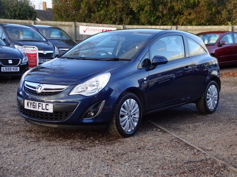 used Vauxhall Corsa EXCITE AC in cambridgeshire-for-sale