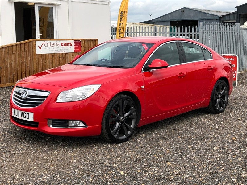 used Vauxhall Insignia SRI VX-LINE RED CDTI AUTOMATIC used cars Ely, Cambridge in cambridgeshire-for-sale