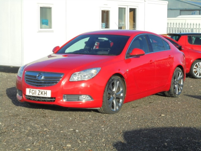 used Vauxhall Insignia SRI NAV VX-LINE RED CDTI in cambridgeshire-for-sale