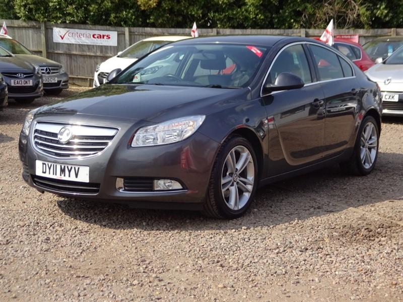 used Vauxhall Insignia SRI NAV CDTI in cambridgeshire-for-sale