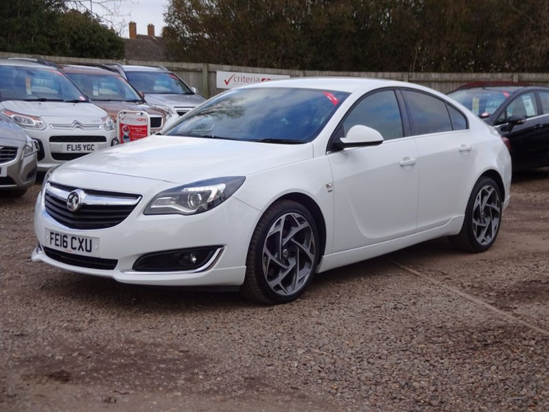 used Vauxhall Insignia SRI NAV VX-LINE CDTI in cambridgeshire-for-sale