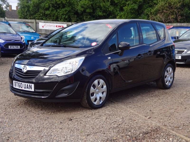 used Vauxhall Meriva EXCLUSIV CDTI ECOFLEX in cambridgeshire-for-sale