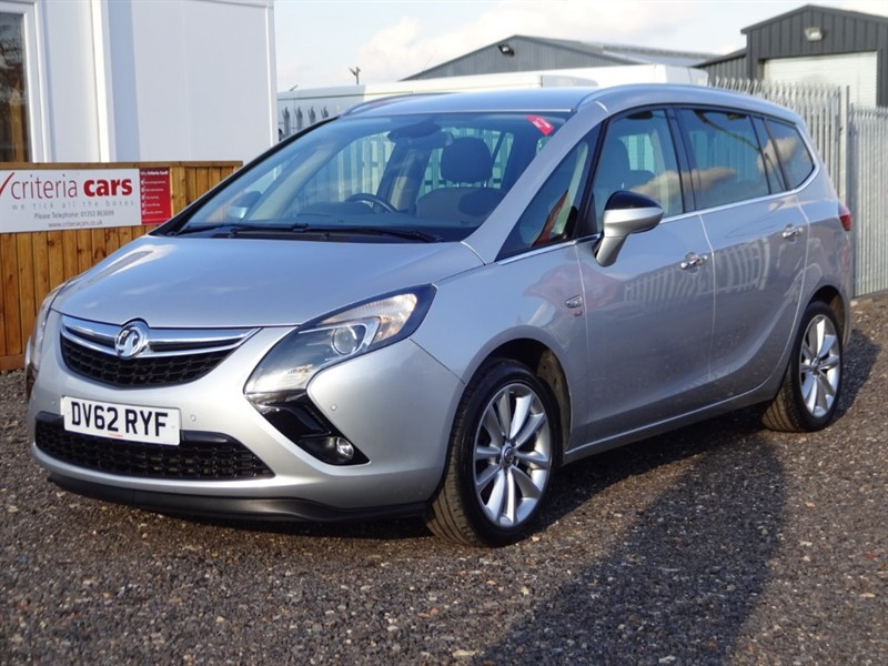 used Vauxhall Zafira Tourer SE CDTI in cambridgeshire-for-sale
