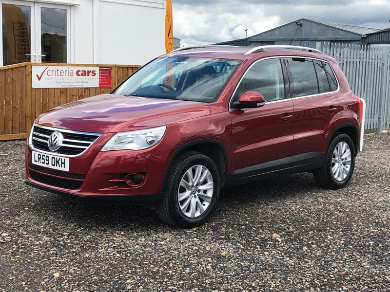 used VW Tiguan SE TSI 4MOTION in cambridgeshire-for-sale