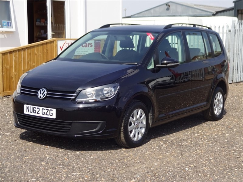 used VW Touran S TDI in cambridgeshire-for-sale
