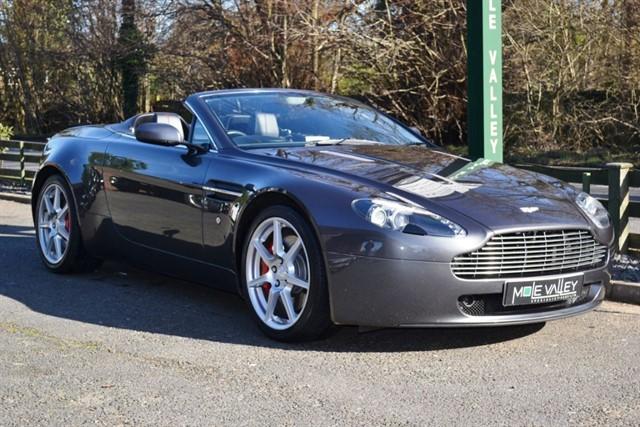 used Aston Martin Vantage V8 ROADSTER in dorking-surrey