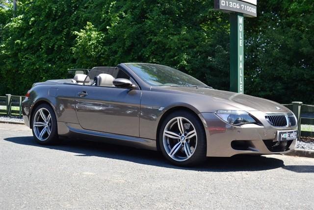 used BMW M6 V10 in dorking-surrey