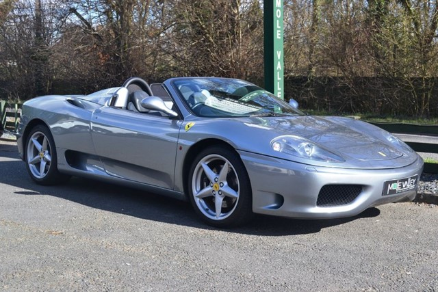 used Ferrari 360 F1 SPIDER in dorking-surrey
