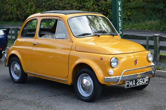 used Fiat 500 Cinquecento (Fully Restored) in dorking-surrey