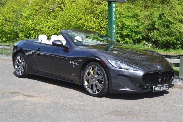 used Maserati Grancabrio Sport V8 in dorking-surrey