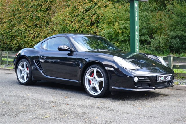 used Porsche Cayman 3.4S Gen2 Manual Only 18000 miles! in dorking-surrey