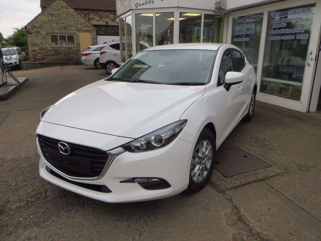 used white mazda mazda3 for sale south yorkshire. Black Bedroom Furniture Sets. Home Design Ideas